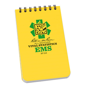Vital Signs Note Pads