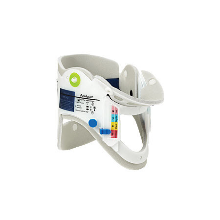 Perfit ACE® Extrication Collar, Adult, White/Yellow