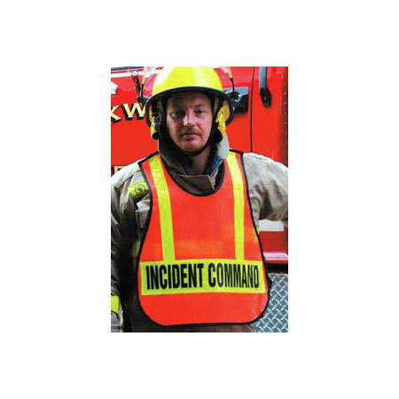 EMS Mesh Safety Vest XL, Royal Blue