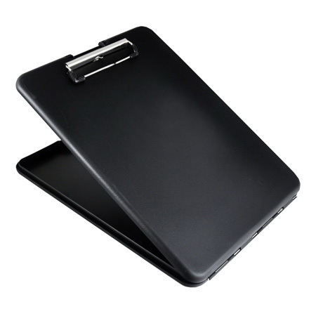 SlimMate Storage Clipboard, Letter/A4 Size, Black