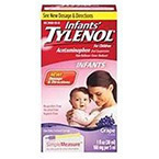 Tylenol Dropper, 160mg/5mL, 30mL, Grape Flavor