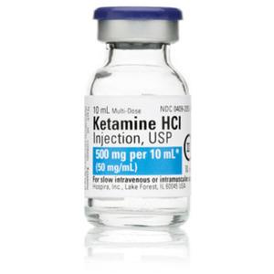 *Discontinued* Ketamine, Class III, 50mg/mL Strength, 10mL