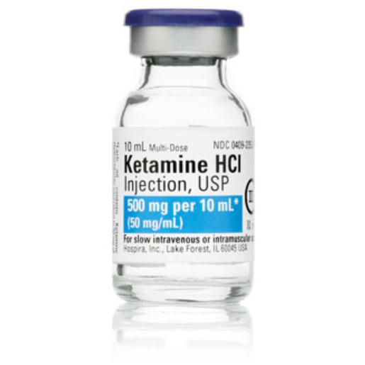 Ketamine, Class III, 50mg/mL Strength, 10mL *Manufacturer Backorder* *Non-Returnable*
