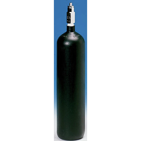 *Discontinued* Oxygen Cylinder, Steel, with CGA 870 Post Valve, Size D