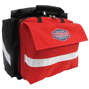 Medical Support Pack, 12in x 14in x 7in, Red, Pocketed