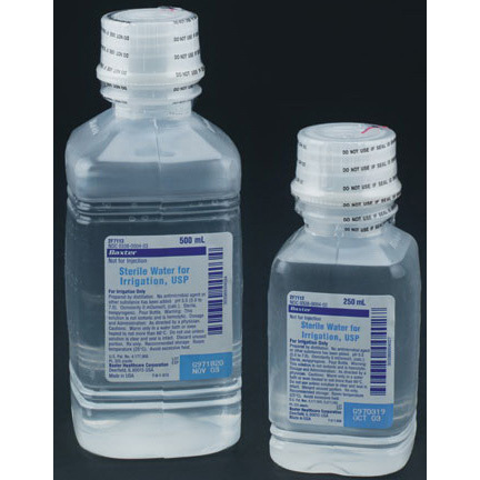 *DISCONTINUED* AirLife® Sterile Water Solution For Irrigation, 100mL *Non-Returnable*