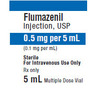 *Box Quantity* Flumazenil Vial, 5mL, 0.5mg