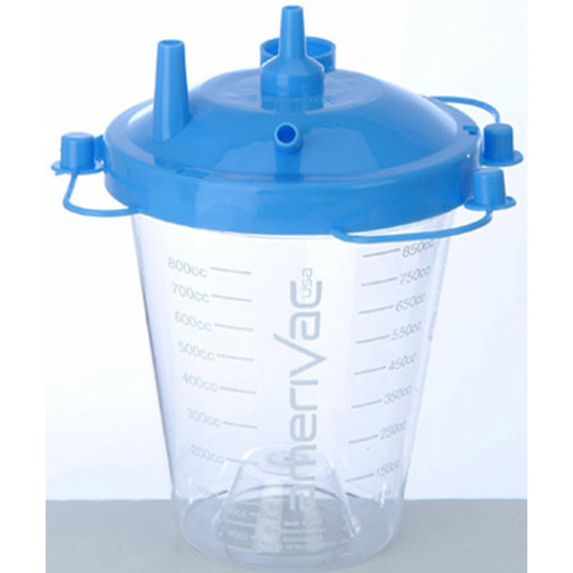Suction Canister, Blue, 850cc