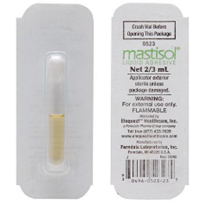 Mastisol® Liquid Adhesive Bandage, 2/3cc Vial