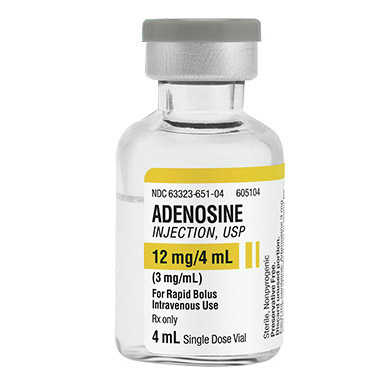 *Box Quantity* Adenosine 12mg, 4ml Vial
