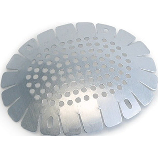 Grafco Aluminum Eye Shield w/Slots, 7.3cm x 6cm