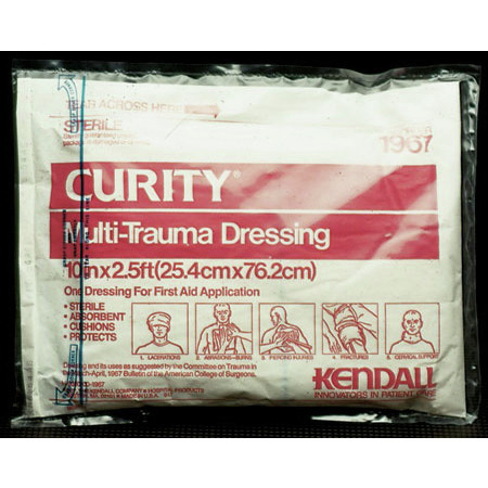 Curity™ Multi-Trauma Dressing, Sterile, 10in x 30in