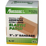 Afassco® Adhesive Bandage, XL, 1in D x 3in W