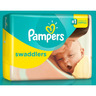 Pampers Swadlers Diapers, Size 1