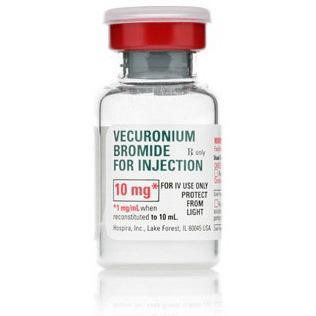 *Box Quantity* Vecuronium, 10mg, 10ml Vial, Powder