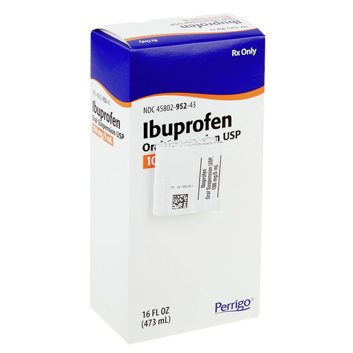 Ibuprofen 100MG/5ML Suspension 473ML