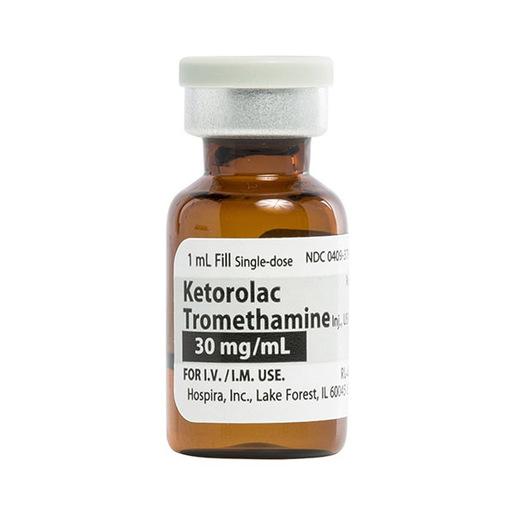 Ketorolac Tromethamin 30mg/mL 1mL Vial