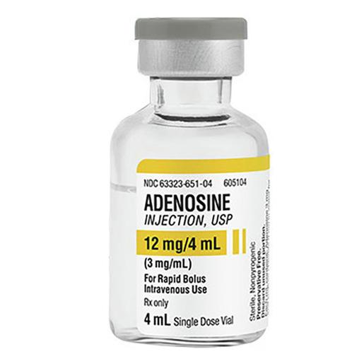 Adenosine Injection, USP 12mg/4mL (3mg/mL) 4mL Vial
