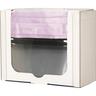 Face Mask Dispenser, 7.5 H x 9.20 W x 4.2in D, Clear, PETG Plastic