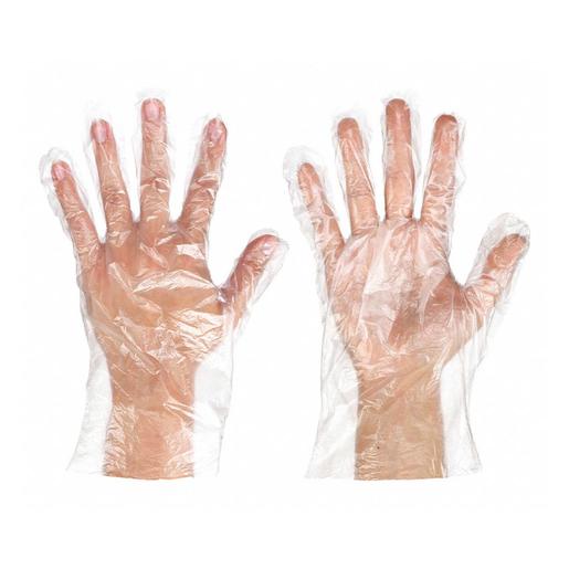 Ambitex Polyethylene Gloves, Disposable, Small