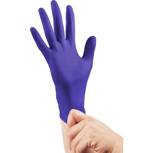 *Discontinued* TritonGrip VL™ Nitrile Exam Gloves, Indigo, 240mm L, XL