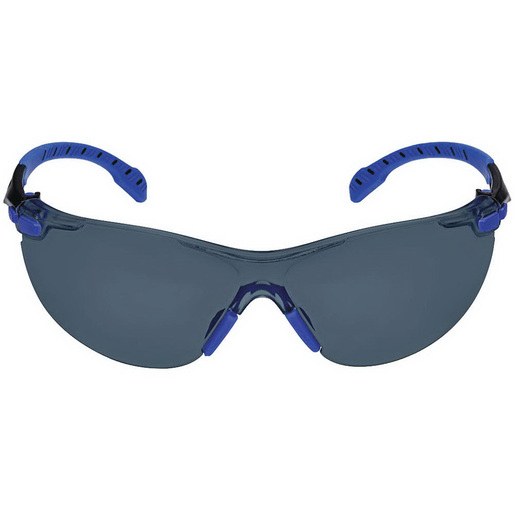Solus Anti-Fog Safety Glass, Black/Blue, Gray *Non-Returnable and Non-Cancelable*