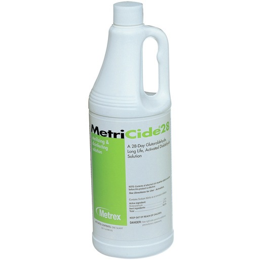 MetriCide® 28 Glutaraldehyde High Level Disinfectant, 1qt *Non-Returnable and Non-Cancelable*