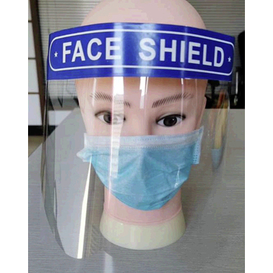 Blank Label Faceshield *Non-Returnable*
