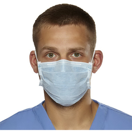 Biomask™ Antiviral Face Masks with Earloop, Blue, Latex-free *Non-Returnable and Non-Cancelable*