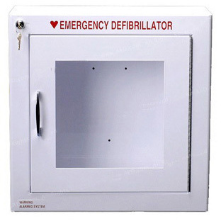 AED Cabinet Surface, 17.25in H x 17.25in W x 6.25in D