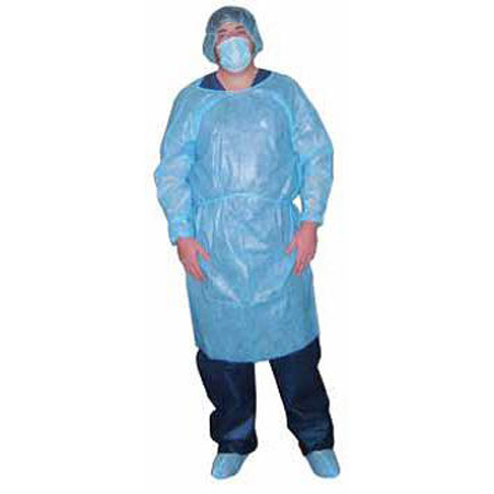 Impervious Isolation Gown, Blue *Non-Returnable*