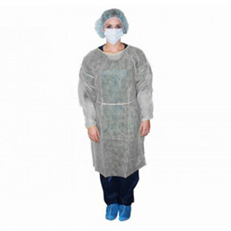 Isolation Gown, Non-sterile, White *Non-Returnable*