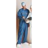 MediChoice Premium Disposable Anti-static Coverall, Blue, XL *Non-Returnable*