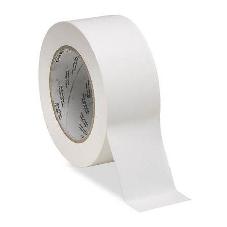 Vinyl Duct Tape, White, 50yd L x 2in W
