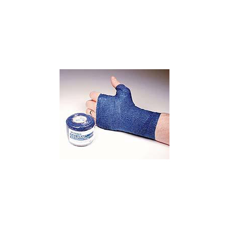 Curity™ Cohesive Bandage, 3in, Blue
