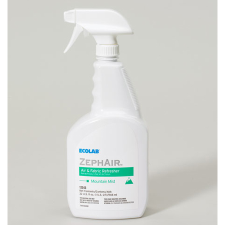 ZephAir™ Air and Fabric Freshener, 6 to 32oz, Mountain Mist Scent *Non-Returnable and Non-Cancelable*
