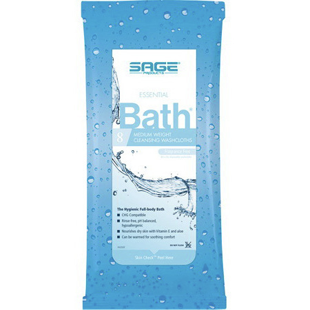 Comfort Personal Cleansing® Bath Cloths, 8in x 8in