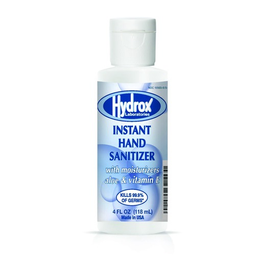Hydrox Instant Hand Sanitizer, 70% alcohol, 4oz