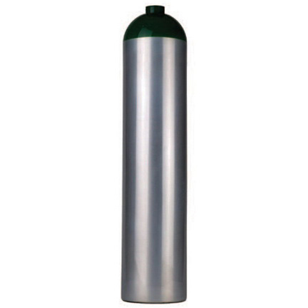Oxygen Cylinder, Aluminum, MM with 540 Valve