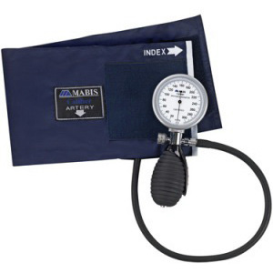 MABIS® CALIBER™ Series Palm Aneroid Sphygmomanometer, Adult