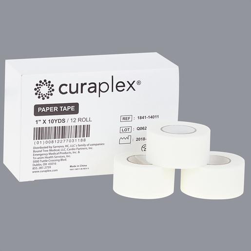 Curaplex® Paper Tape, 1 in x 10 yds