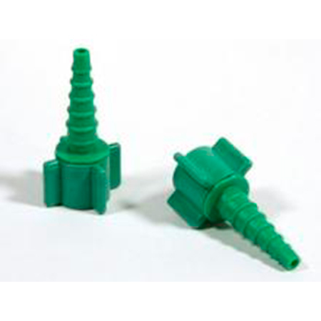 Swivel Barb Adaptor, Green, Xmas Tree Shape