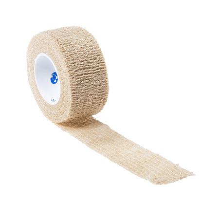 Curaplex® Cohesive Elastic Bandage, 1in, Tan