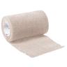 Curaplex® Cohesive Elastic Bandage, 4in, Tan