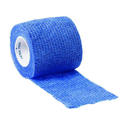 Curaplex® Cohesive Elastic Bandage, 2in, Blue