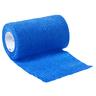 Curaplex® Cohesive Elastic Bandage, 4in, Blue