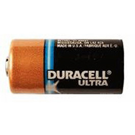 Duracell Ultra DL 123A Lithium Battery, 3V