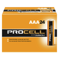 Duracell Procell AAA Alkaline Battery, 1.5V