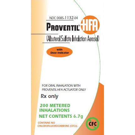 Proventil (Albuterol) HFA 6.7gm