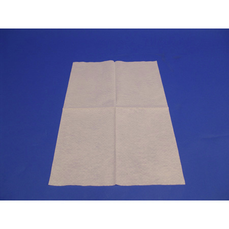 Disposable Hand Towel, White, 14in x 18in